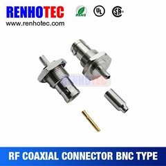 coaxial cable bnc connector female type
