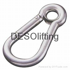 Stainless steel snap hook material 304/ 316