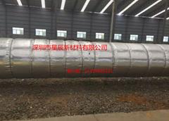 熱網長輸管道納米氣囊反射層管道隔熱保溫材料