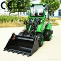 compact 4WD tractor DY840 mini garden front end loader  1