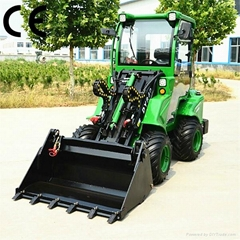 compact 4WD tractor DY840 mini garden front end loader