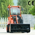 compact 4WD tractor DY840 mini garden front end loader  3