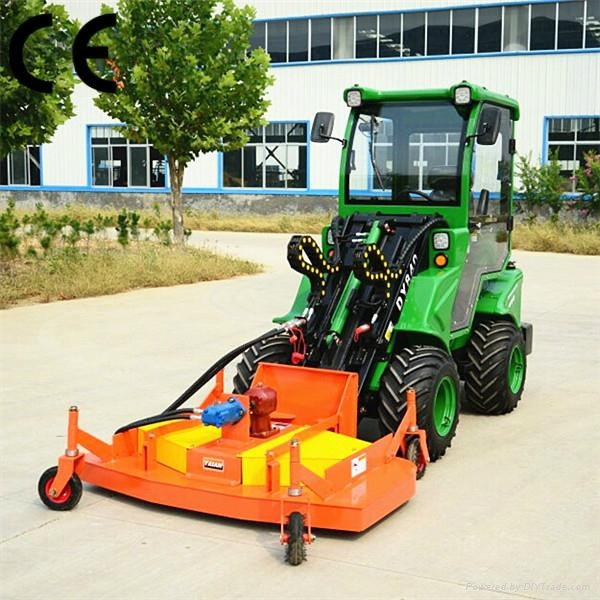 compact 4WD tractor DY840 mini garden front end loader  4