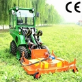 compact 4WD tractor DY840 mini garden front end loader  5