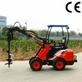 Compact construction farm mini loader