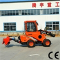 Small lawn mower tractor DY840 mini garden front end loader tractor  5
