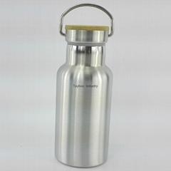 Stainess Steel 304 Double Wall Sport Bottle 350ml