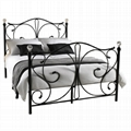 2016 metal double bed new design