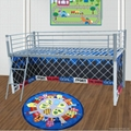 Kids metal bed with tent 1