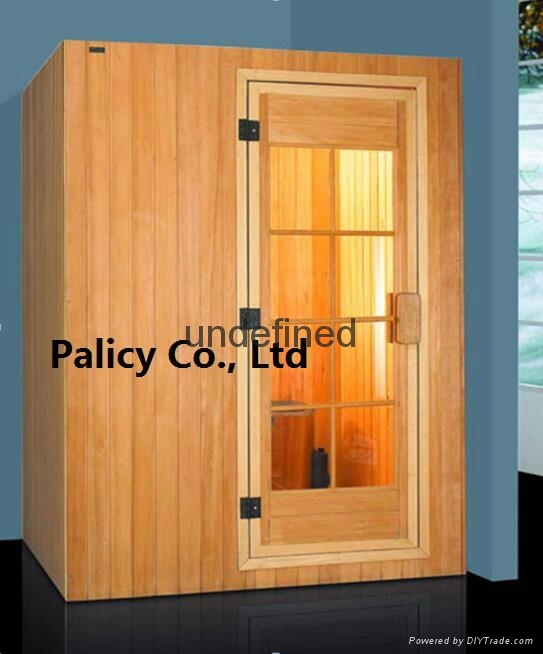 Traditional finland pine luxury Indoor mini portable dry sauna room 5