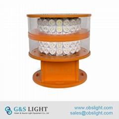 LED Medium intensity Double Aviation Obstruction Light