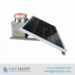 Medium intensity Type A Solar Aviation Obstruction Light