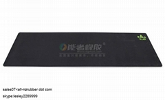 custom designed Anti-slip Eco friendly Rubber  Yoga Mat