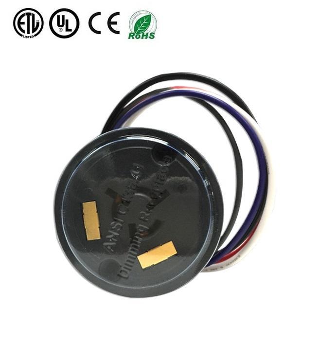 TE ANSI C136.41 Standard 7Pin 5pin Dimming Receptacle Socket for LED