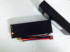 Lipo batteries for RC Car 7500mah 7.4V 80C hardcase battery