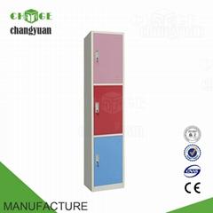 single  hot  sale  colourful  steel  school  locker  for student