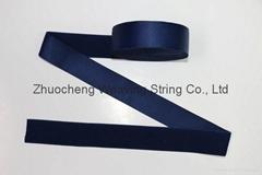 customized elastic satin ribbon nylon satin ribbon printed webbing
