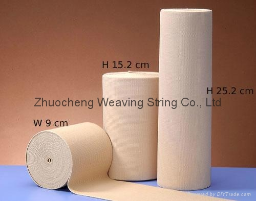 knitted elastic webbing fish line ribbon 1
