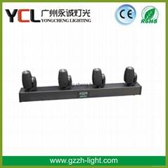 4-heads Led beam moving head light for stage decoration