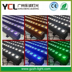 indoor led bar light 14pcs 30w COB RGBWAUV 4in1 led wall washer