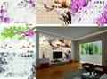 花开富贵牡丹背景墙 3