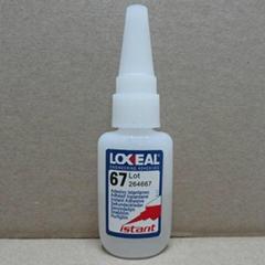 原裝進口LOXEAL 67 瞬間膠 應用在耳機行業