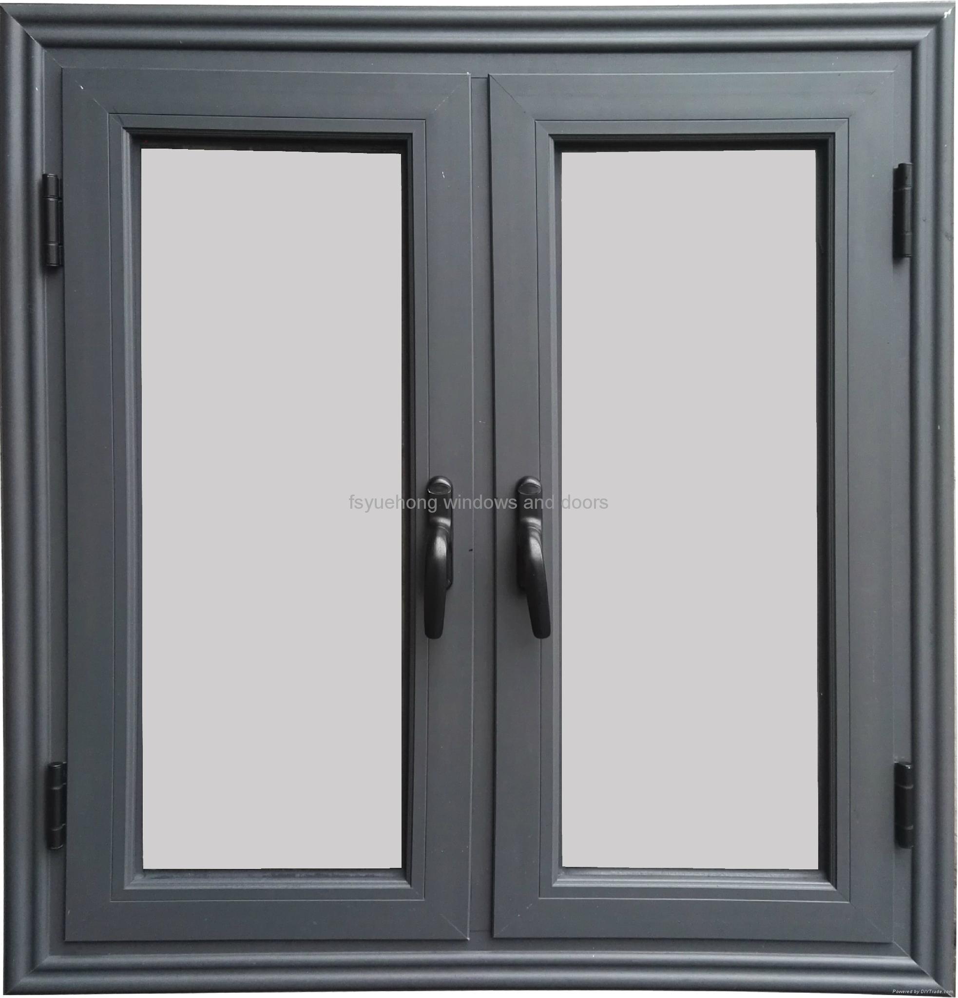 Aluminum Window Companies : Non thermal break aluminum casement window endear