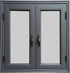 40#non-thermal break aluminum casement window