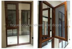 2.0mm thermal break aluminum window