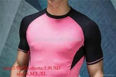 man vest sport shirt jersey Fitness Clothing