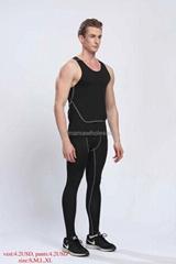 man tights vest sport t-shirts jerseys