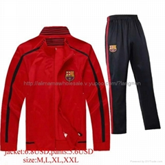 man football soccer tracksuit jacket pants coats