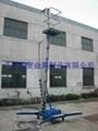 廣東鋁合金單桅柱式昇降機 2