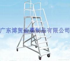 广东博贸铝合金平取货梯