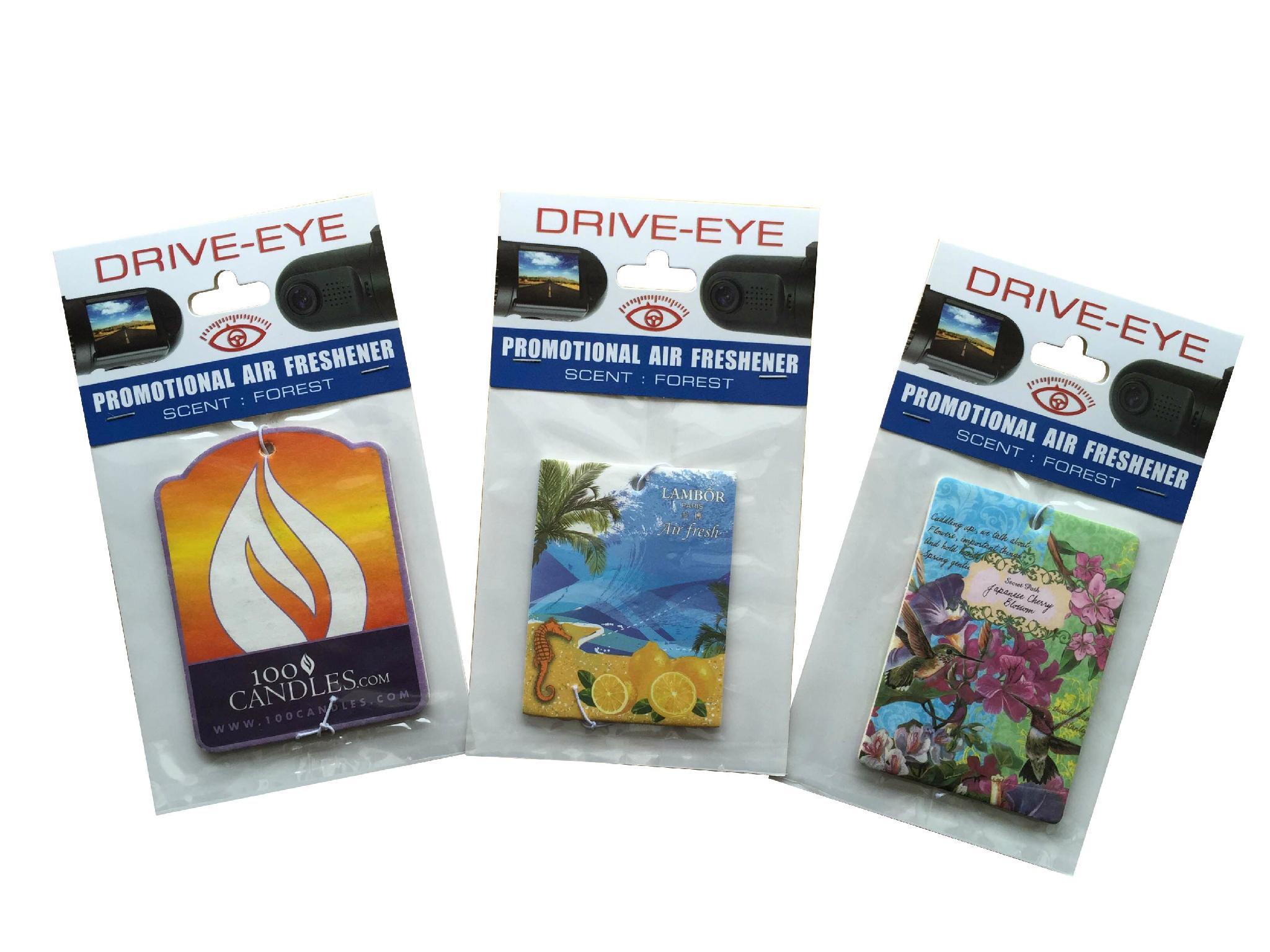 paper car air freshener  1