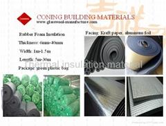 rubber foam /heat shrink foam/ pipe insulation rubber foam