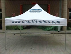 Popular Folding Gazebo with Dye Sublimation Printing on Small MOQ