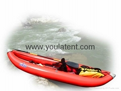 Whitewater Inflatable Canoe