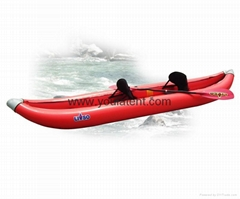 Water Sports Two Seats PVC Inflatable Boat
