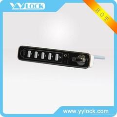 Electronic drawer lock