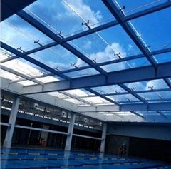 廣州陽光房遮陽膜|玻璃頂防晒膜
