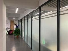 广州办公室磨砂膜|玻璃门磨砂贴膜