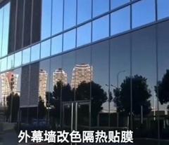 广州幕墙玻璃贴隔热膜
