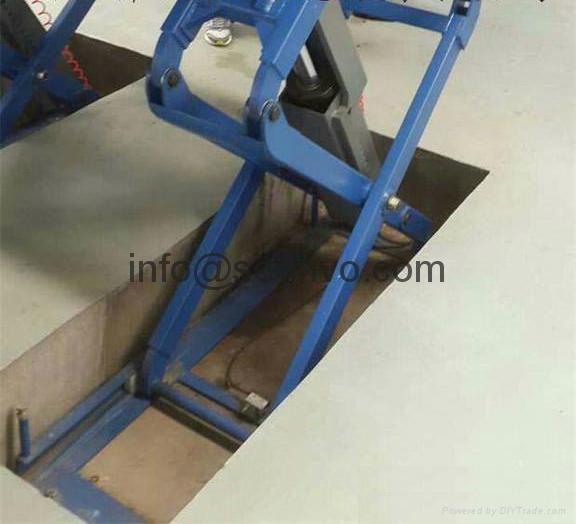 Hydraulic Scissor Car Jack : Underground scissor car lift hydraulic auto jack