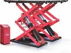 Hydraulic car elevator garage hoist repair equipment scissor car lift