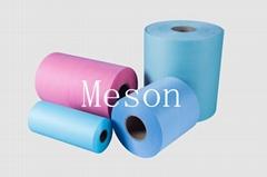 dyed spunlace nonwoven fabric