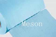 meshed spunlace nonwoven fabric