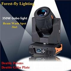 DJ stage decoration lighting 330W/350W Beam/Spot/Wash 3in1 Moving Head Light