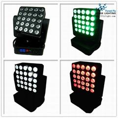 25pcs4in1  led matrix moving head light