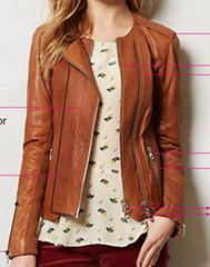 Ladies PU jacket